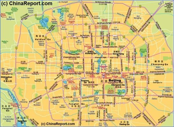 chinareportbeijingmapsofbeijingmap schematic central beijing districts overview03element763 Beijing Map