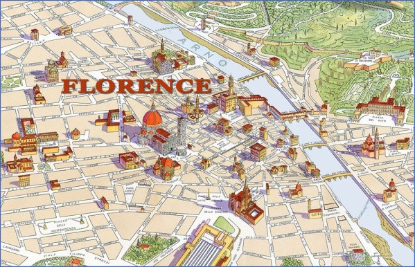florence map Map of Florence