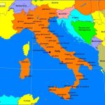 italypolitical 150x150 Map of Italy