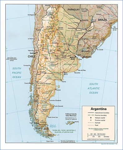 map of argentina 13 Map of Argentina