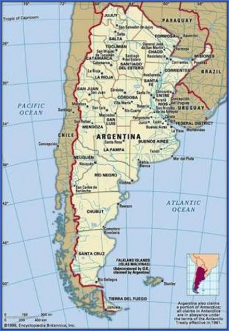 map of argentina 14 Map of Argentina