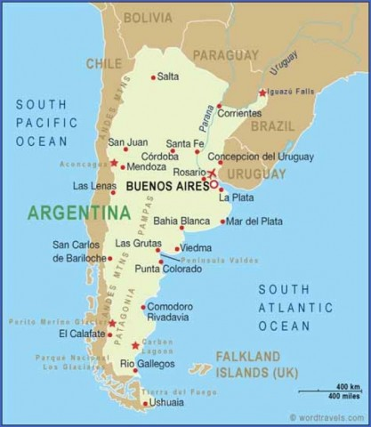 map of argentina 15 Map of Argentina