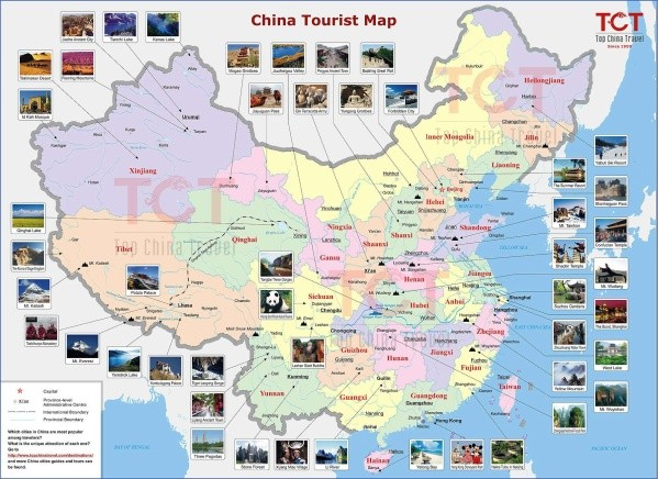 map of china 1 Map of China