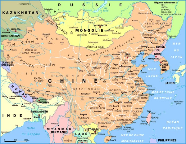 map of china 10 Map of China