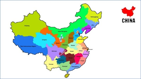 map of china 15 Map of China