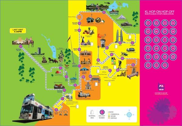 map of kuala lumpur 11 Map of Kuala Lumpur