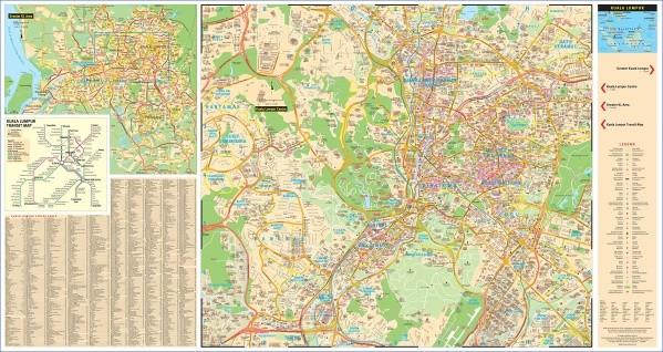 map of kuala lumpur 12 Map of Kuala Lumpur