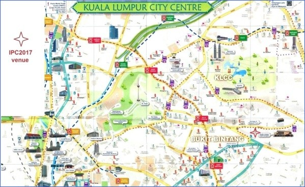 map of kuala lumpur 13 Map of Kuala Lumpur