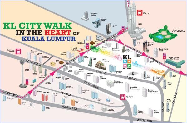 map of kuala lumpur 9 Map of Kuala Lumpur