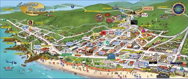 map of laguna beach 12 Map of LAGUNA BEACH