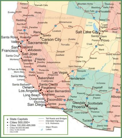 map of las vegas 13 Map of LAS VEGAS