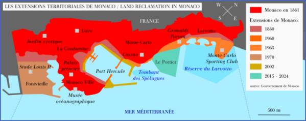 map of monaco 13 Map of Monaco