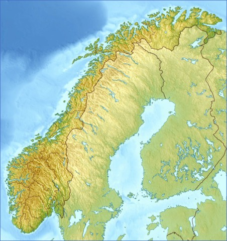 map of norway 11 Map of Norway