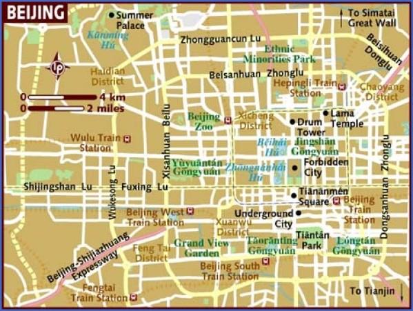 map of beijing Beijing Map