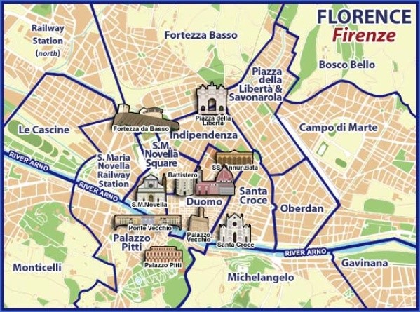 mp bg Map of Florence