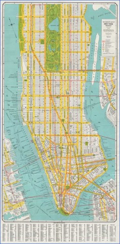 newyorkmanhattan gross 1940 Map of New York