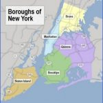 nyc boroughs map 150x150 Map of New York