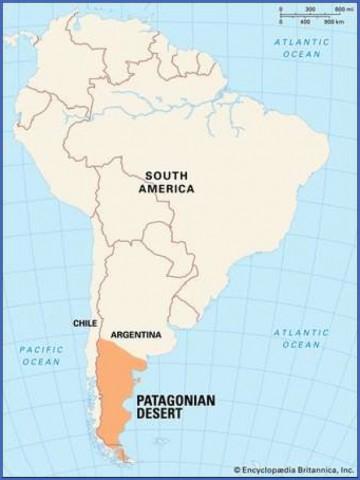 patagonia map 1 Patagonia Map