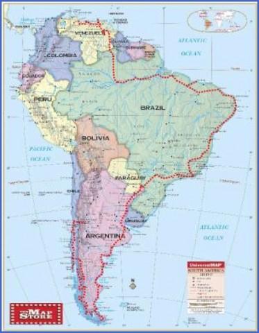 patagonia map 10 Patagonia Map