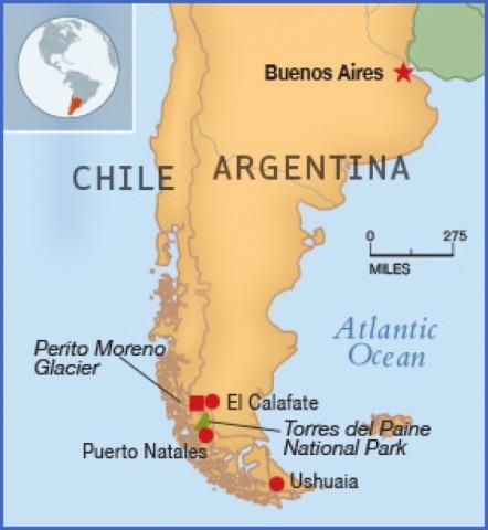 patagonia map 12 Patagonia Map