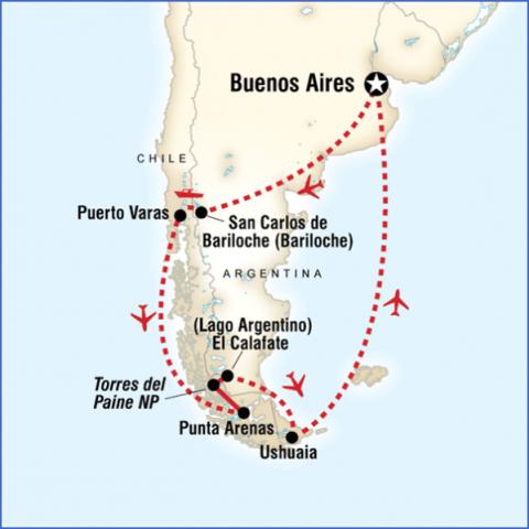 patagonia map 13 Patagonia Map