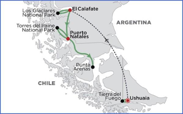 patagonia map 19 Patagonia Map
