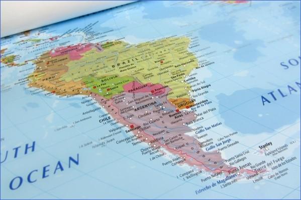 patagonia map 2 Patagonia Map