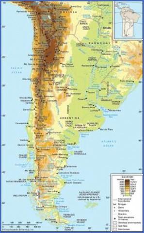 patagonia map 5 Patagonia Map