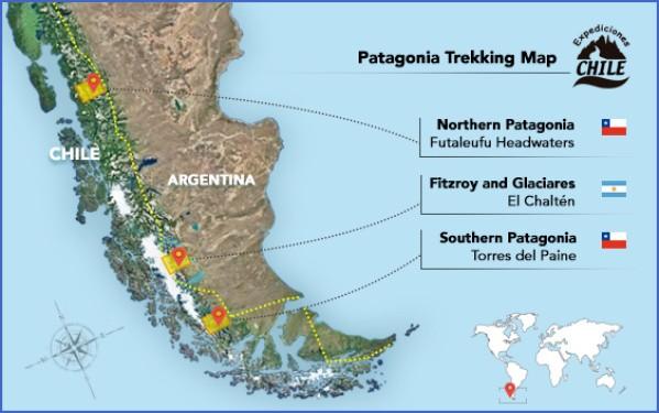 patagonia map 7 Patagonia Map