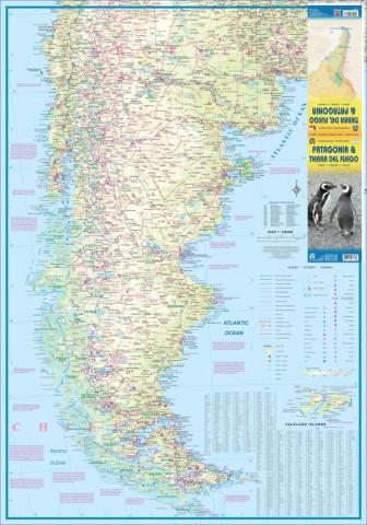 patagonia front Map of Patagonia