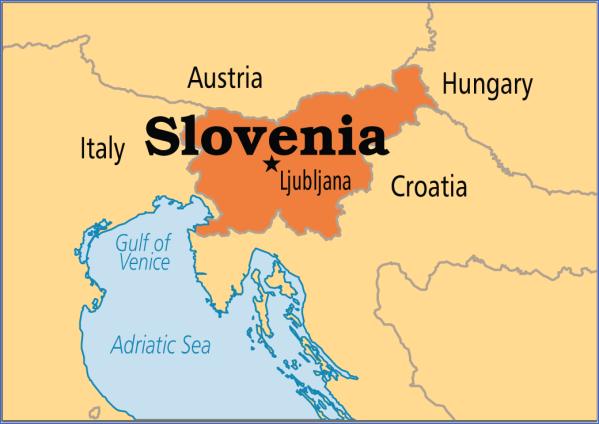 slvn mmap md Map of Slovenia
