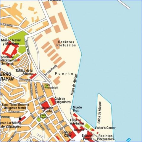 stadtplan valparac3adso 7971 Valparaíso Map