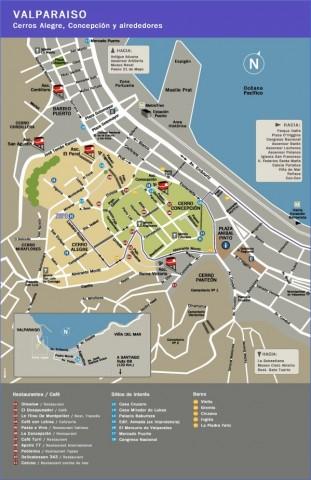 valparaiso map 0 Valparaíso Map