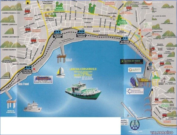 valparaiso Valparaíso Map