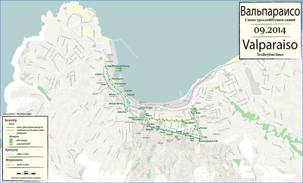 valparaiso map 2015 Valparaíso Map
