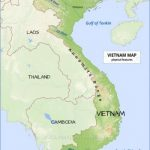 vietnam map physical 150x150 Map of Vietnam