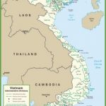 vietnam political map 150x150 Map of Vietnam