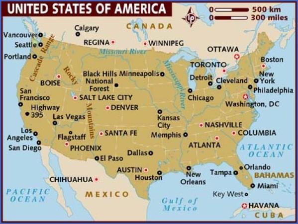 america map 17 America Map