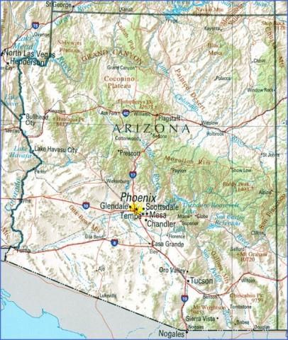 arizona map 15 Arizona Map