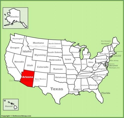 arizona map 2 Arizona Map