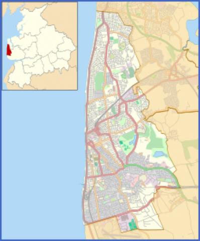 blackpool map 11 Blackpool Map