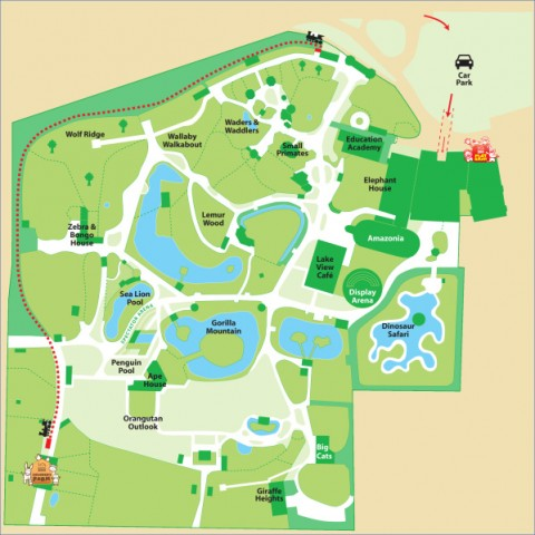 blackpool map 14 Blackpool Map