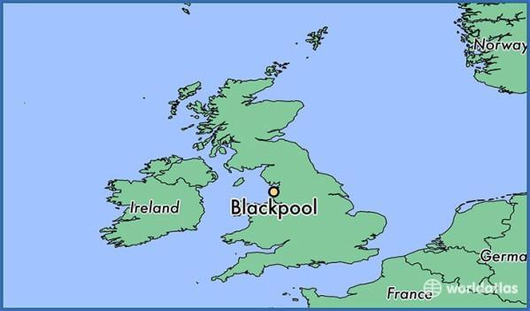 blackpool map 6 Blackpool Map