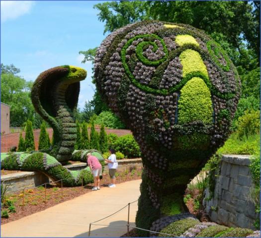 botanical gardens usa  3 BOTANICAL GARDENS USA