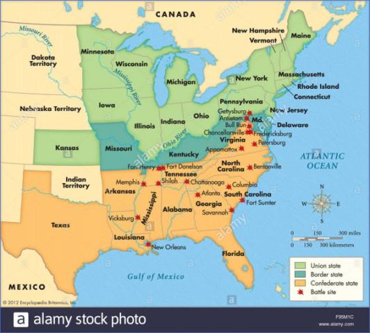 civil war sites usa 1 CIVIL WAR SITES USA