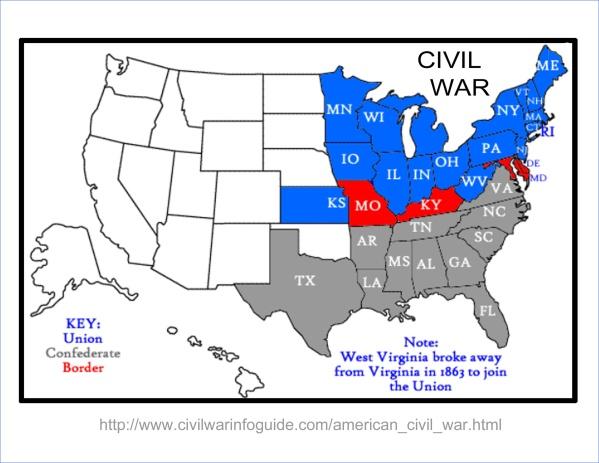 civil war sites usa 12 CIVIL WAR SITES USA