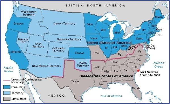 civil war sites usa 6 CIVIL WAR SITES USA