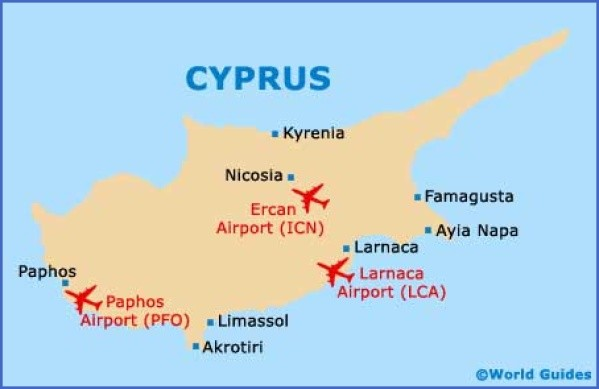 cyprus cities map major cities in cyprus 10 Cyprus Cities Map, Major Cities in Cyprus
