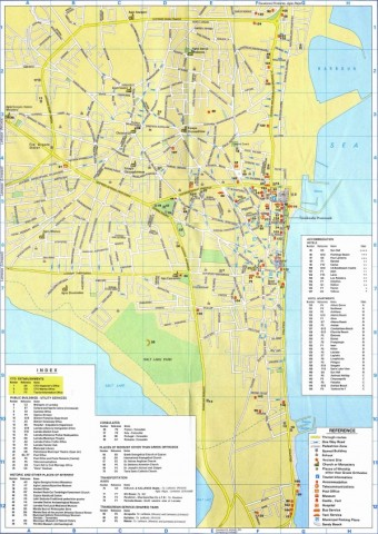 cyprus cities map major cities in cyprus 13 Cyprus Cities Map, Major Cities in Cyprus