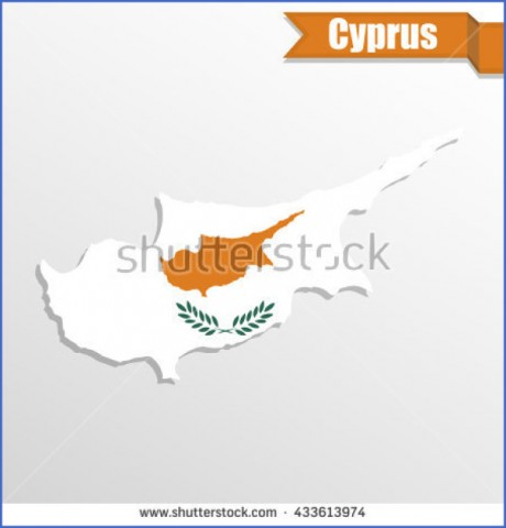 cyprus map and flag  12 Cyprus Map And Flag